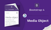 Bootstrap 4 Media Object - thumbnail