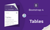 Bootstrap 4 Tables - Membuat Tabel - thumbnail
