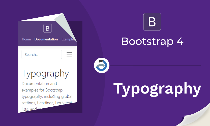 Bootstrap 4 Typography (Tipografi)