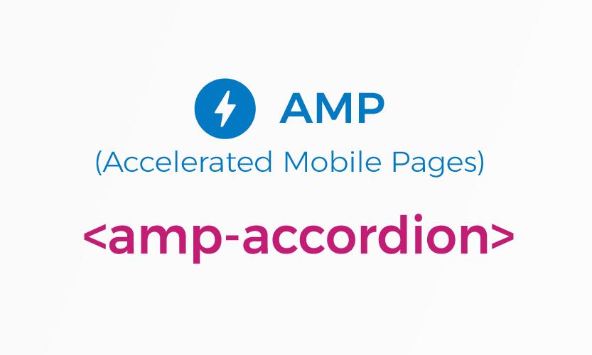 amp-accordion - Cara Menggunakan di AMP HTML