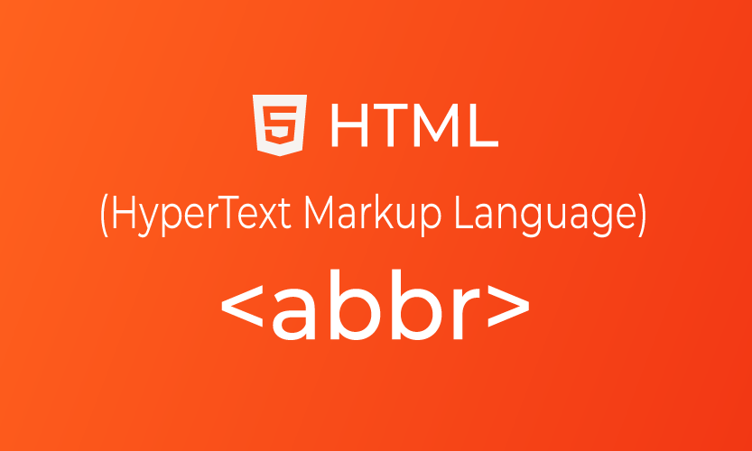 HTML abbr tag | belajar <abbr> element