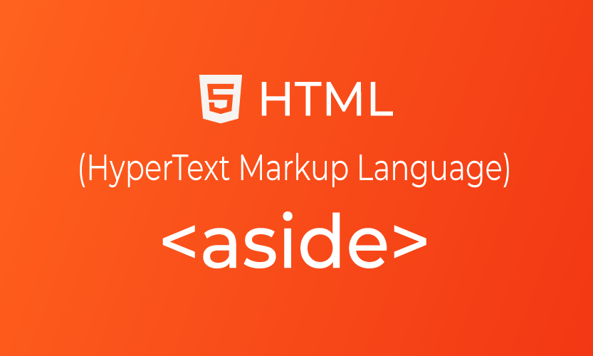 HTML aside tag | belajar <aside> element