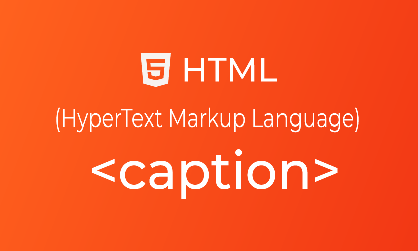 HTML caption tag | belajar <caption> element