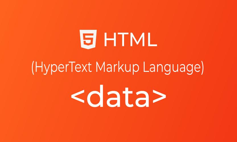 HTML data tag | belajar <data> element
