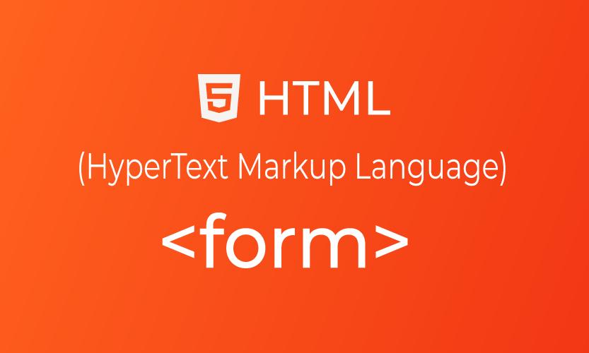 HTML form tag | belajar <form> element