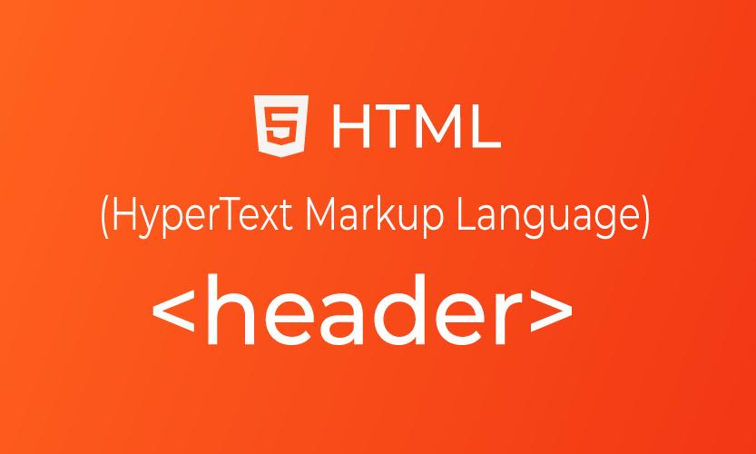HTML header tag | belajar <header> element