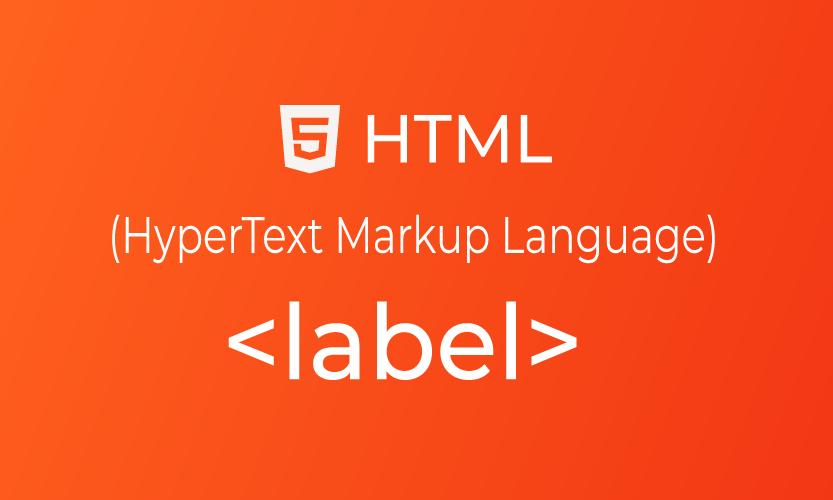 HTML label tag | belajar <label> element