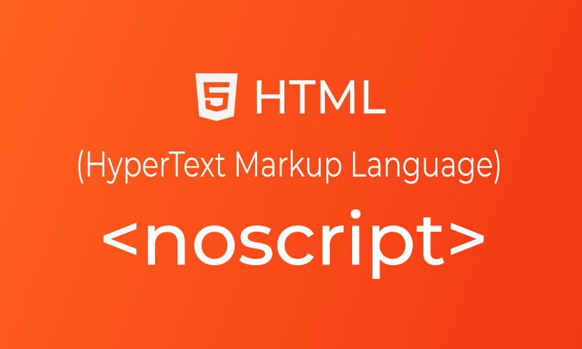 HTML noscript tag | belajar <noscript> element