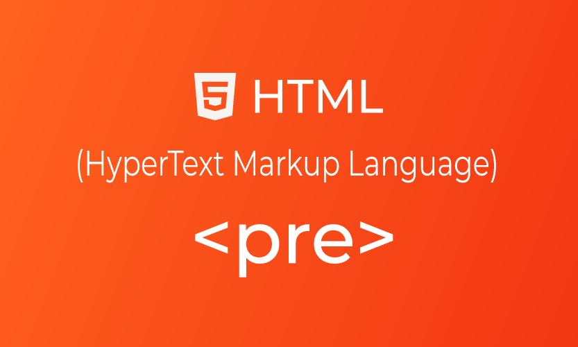 HTML pre tag | belajar <pre> element