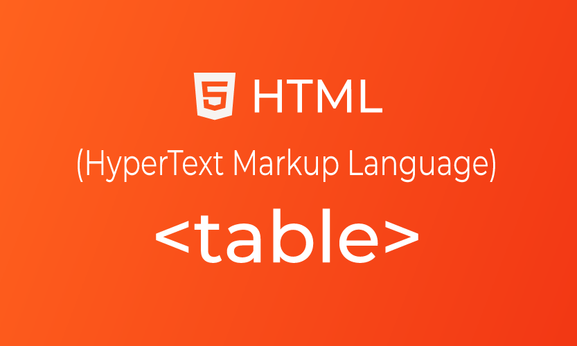 Category tutorial for How to use table tag in html