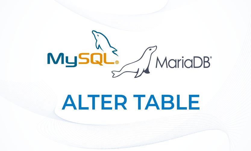 ALTER TABLE - Merubah, Menambahkan, Menghapus Kolom Pada MariaDB dan MySQL