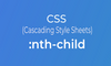 CSS nth-child Selector - thumbnail