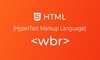 HTML wbr tag | belajar <wbr> element - thumbnail