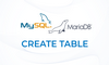 MariaDB: CREATE TABLE - Membuat Tabel - thumbnail