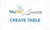 MariaDB: CREATE TABLE - Membuat Tabel - thumbnail