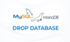 MariaDB-MySQL DROP DATABASE - Hapus Database - thumbnail