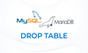 MariaDB: DROP TABLE - Menghapus Tabel - thumbnail