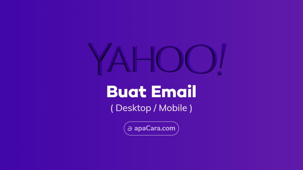 Yahoo indonesia pendaftaran Membuat akun